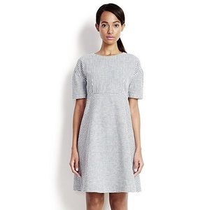 Lands end linen blend dress size 4